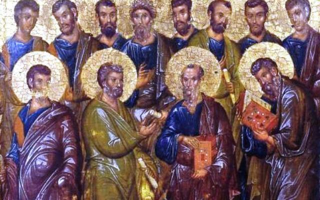 """Резултат с изображение за """"Св. апостоли Патров, Ерм, Лина, Гаий и Филолог"""""""""""